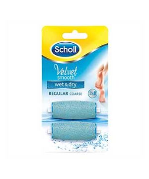 Scholl Velvet Smooth Refill Wet & Dry