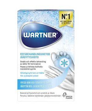 Vårtborttagning Frysbehandling Warner för Fotvårtor och Handvårtor