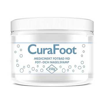 Medicinskt fotbad vid fotsvamp och nagelsvamp CuraFoot