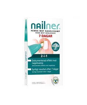Bäst negelsvampsbehandling Nailner 2 in 1 behandlingspenna mot nagelsvamp